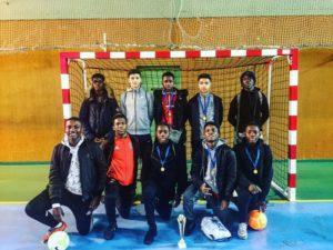 Equipe de cadets en Futsal