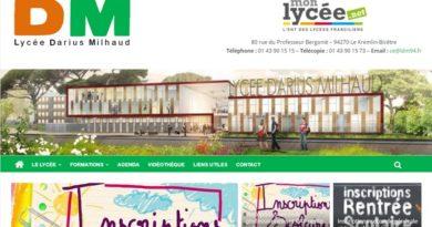 Nouveau site web Darius Milhaud