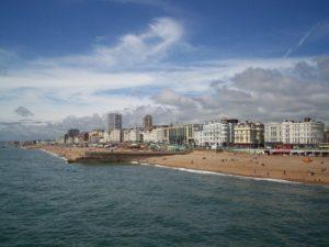 La plage de Brighton From Wikimedia Commons, the free media repository