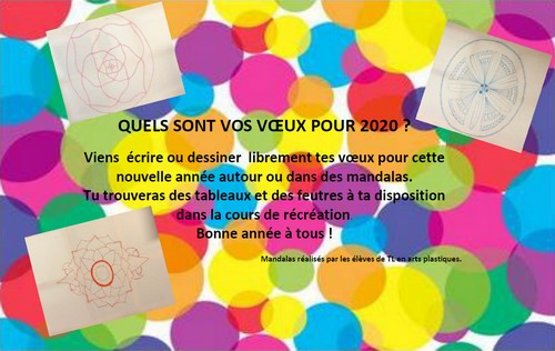 QUELS SONT VOS VŒUX POUR 2020 ?