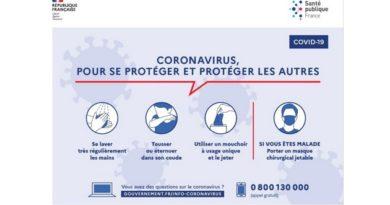 COVID-19 – Ralentir la progression de l'épidémie grâce aux gestes barrières – Protéger les plus fragiles